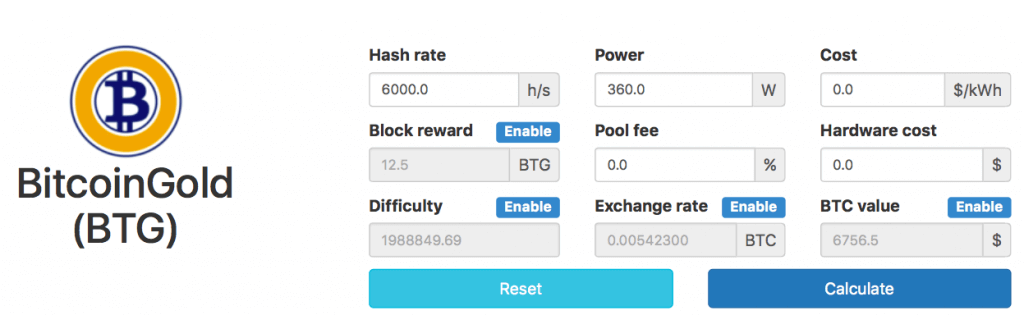 How to mine bitcoin gold definitive guide this calculation is the hash rate that you can expect from a rig with 8 nvidia 1080ti graphics cards ccuart Choice Image