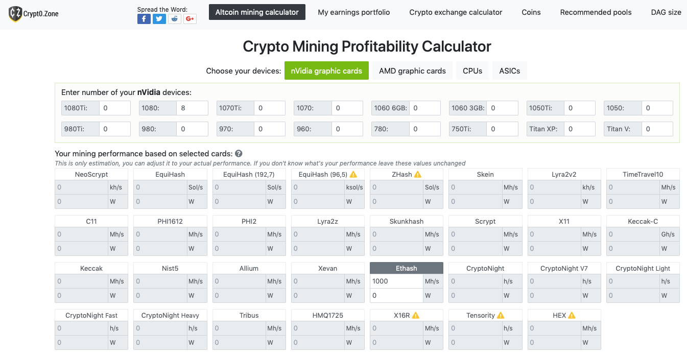 How To Calculate Mining Profitability Top 7 Mining Calculators Crypto Mining Blog Any recomendations on what currency to go to? how to calculate mining profitability