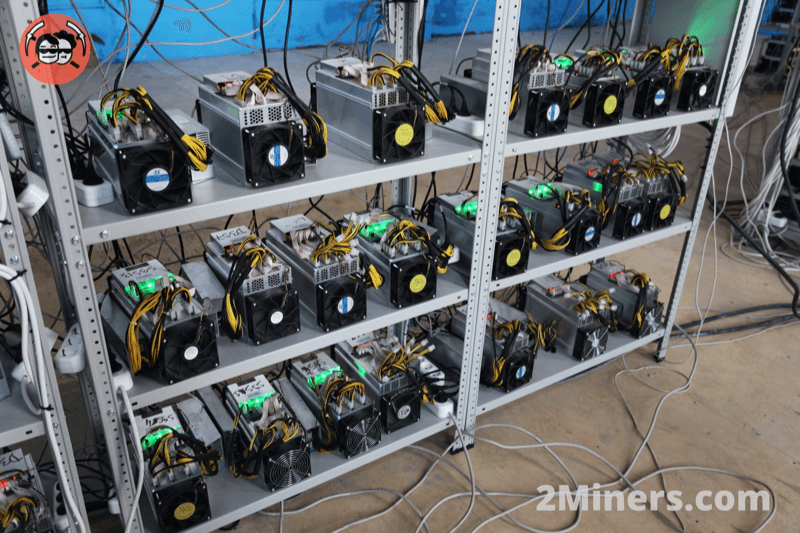 if a cryptocurrency mining rig cant reach the network